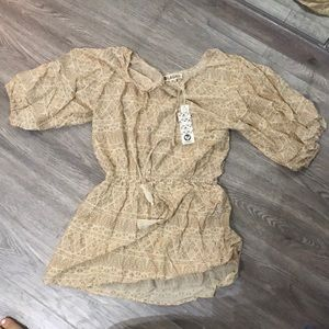 Lagaci dress/ coverup